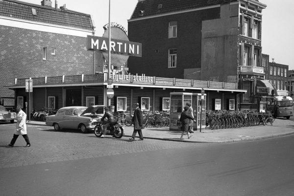 Fietsenstalling, Utrecht Gerrit Rietveld Foto: Het Utrechts Archief