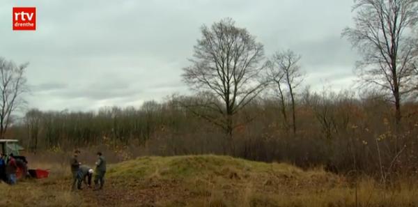Grafheuvel Schepershut, Oude Willem Beeld: RTV Drenthe