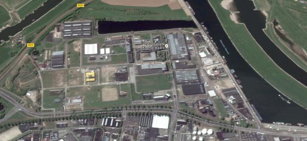 Industriepark Kleefse Waard, Arnhem Beeld: Google Maps