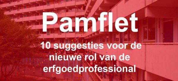 Pamflet Joks Janssen en Platform VOER