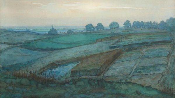 Landschap bij Arnhem Mondriaan via Christie's