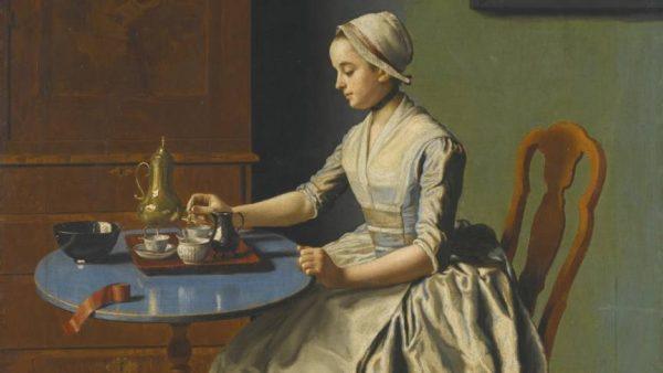 Hollands meisje aan het ontbijt, Rijksmuseum