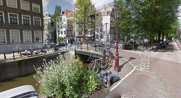 De Geurt Brinkgrevebrug in Amsterdam