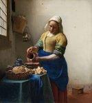 Het Melkmeisje van Johannes Vermeer