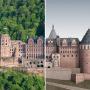 Digitale reconstructie van Schloss Heidelberg