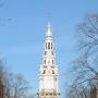 Toren van Amsterdamse Zuiderkerk krijgt originele kleur terug