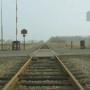 Weg met het spoor