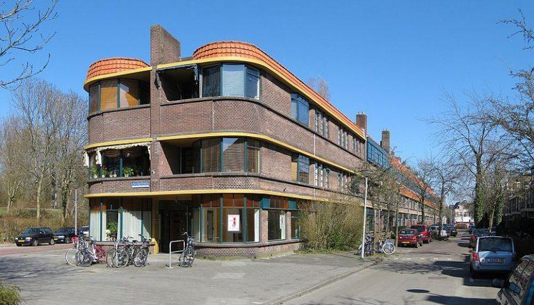 Het rijksmonumentale Pythagorascomplex in Groningen