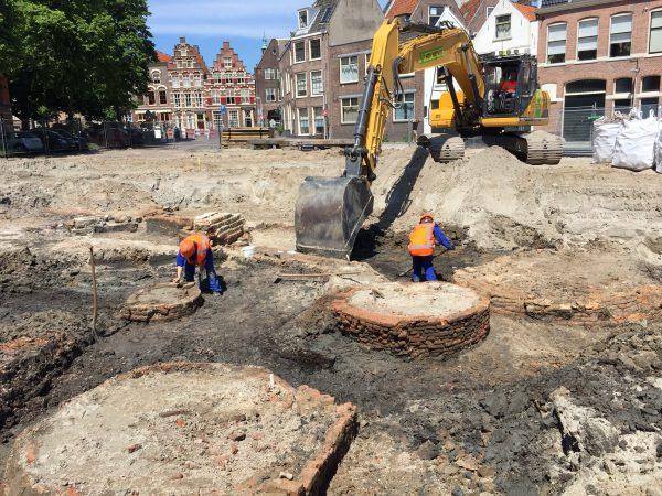 Opgraving Garenmarkt, Leiden