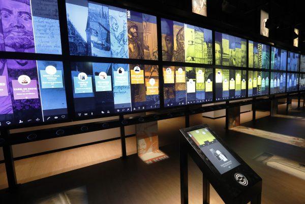 Canon van Nederland in het Nederlands Openluchtmuseum in Arnhem