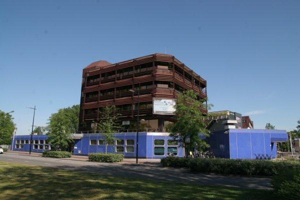 Het Blauwe Gebouw in Tilburg