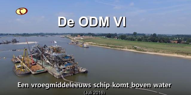 Documentaire over vroegmiddeleeuws schip de ODM VI