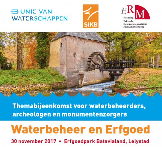 Waterbeheer en erfgoed