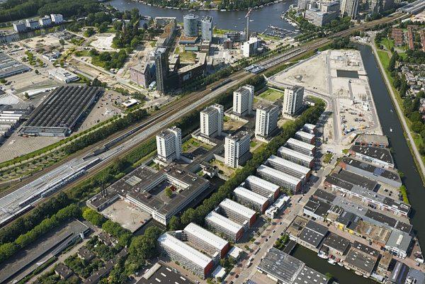 Luchtfoto Bijlmerbajes
