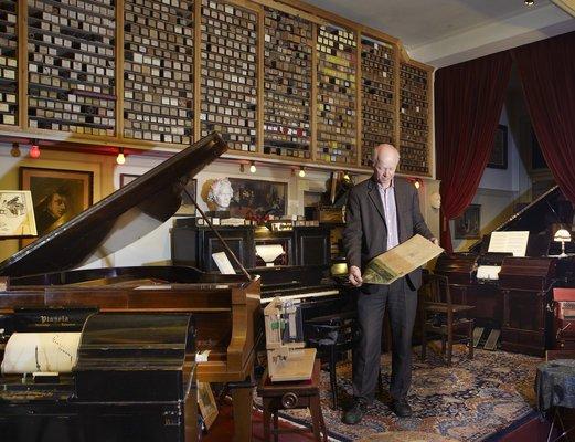 Het Pianola Museum in Amsterdam