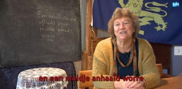 Ina Broekhuizen geeft spoedcursus West-Fries