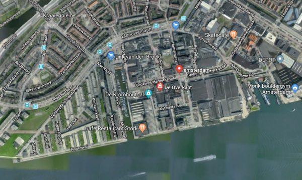Hamerstraatgebied in Amsterdam-Noord