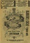 Telefoongids Nederlandsche Bell Telephoon Maatschappij