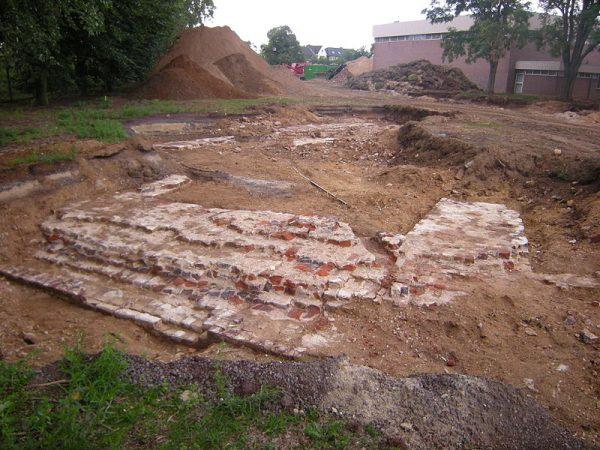 Referentiebeeld eerdere archeologische opgravingen Fort Sint Michiel in Venlo
