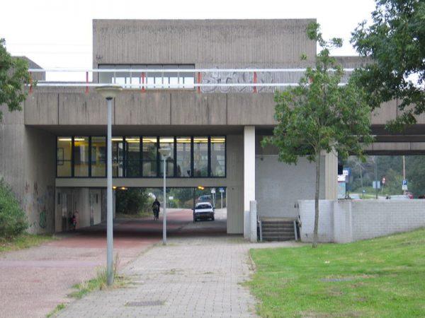 Metrostation Van der Madeweg voor de vernieuwing