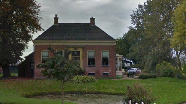 De boerderij aan de Bouwerschapweg in Woltersum