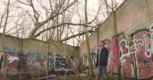 Herontdekt deel Berlijnse Muur