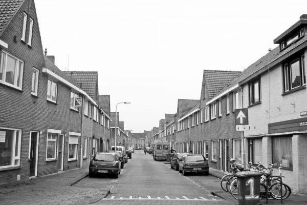 Voormalige arbeiderswijk Groeseind in Tilburg