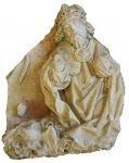 Het beeld dat werd gevonden in de Sint Walburgiskerk in Zutphen