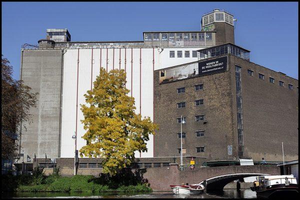 Meelfabriek in Leiden