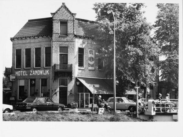 Hotel Zandwijk in Vriezenveen in 1983