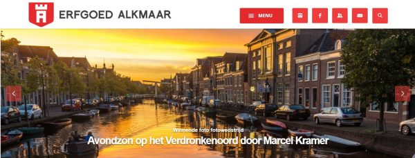 Homepage Erfgoedalkmaar.nl