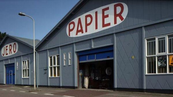 JERO papierwarenfabriek in de Brinckhorst in Den Haag