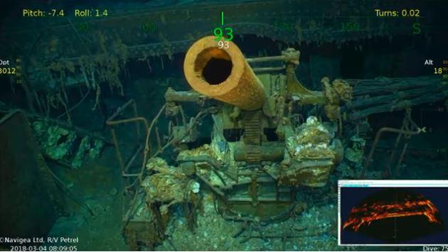 Wrak USS Lexington