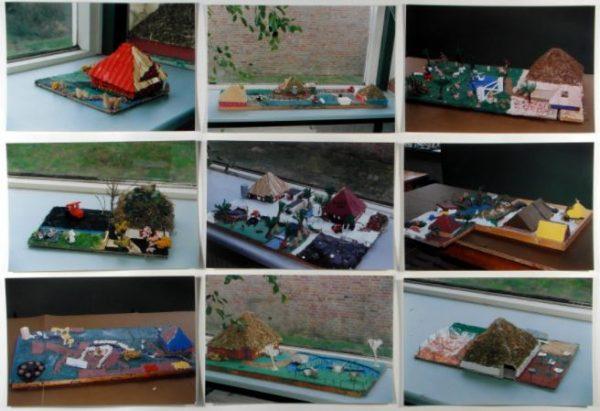Voorbeelden van de gemaakte werkstukken