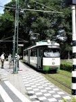 RET-tram 631 in het Nederlands Openluchtmuseum in Arnhem