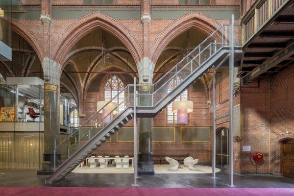 De herbestemde St. Annakerk in Breda