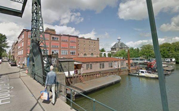 Historische scheepswerf Koning William in Amsterdam