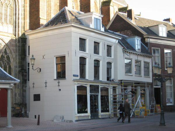 Restauratie rijksmonument in de binnenstad van Amersfoort