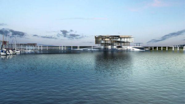 Ontwerp nieuw Werelderfgoed Centrum Waddenzee in Lauwersoog