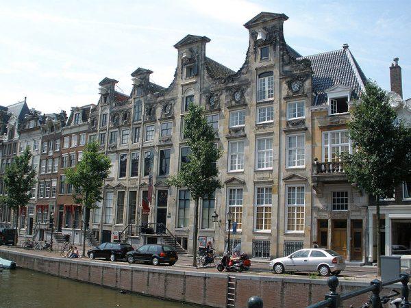 Het Bijbels Museum aan de Herengracht in Amsterdam