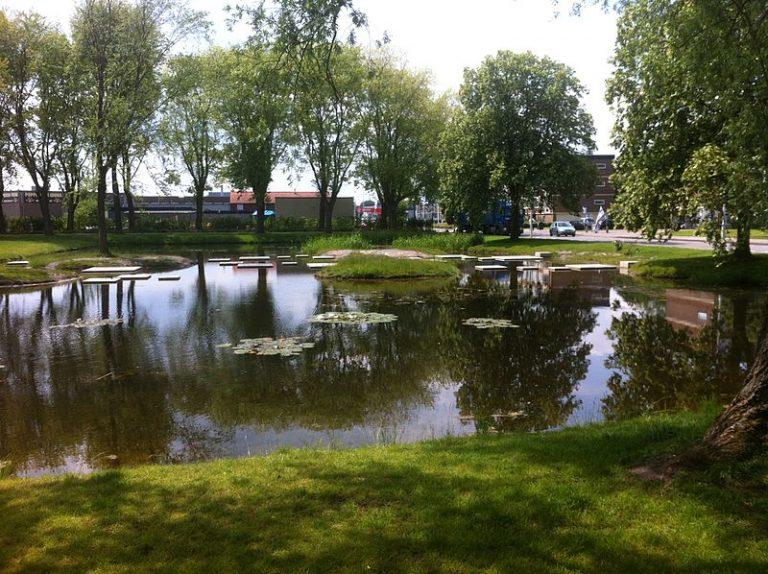 Het Thalenpark in Drachten