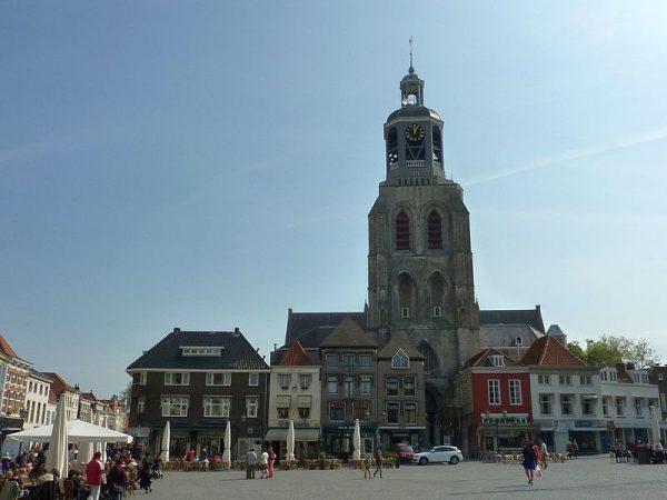 De Gertrudiskerk in Bergen op Zoom