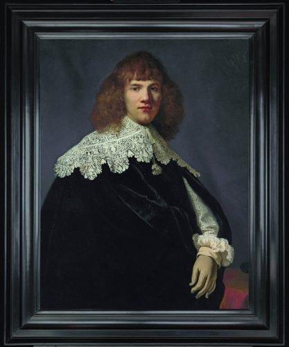 portret van een Jonge Man, Rembrandt
