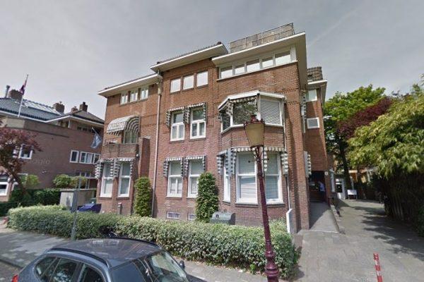 Jan van Goyenkliniek aan de Jan van Goyenkade 1 en 2 in Amsterdam-Zuid