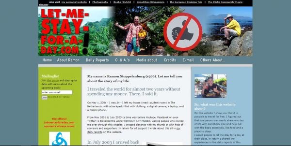 Homepage letmestayforaday.com