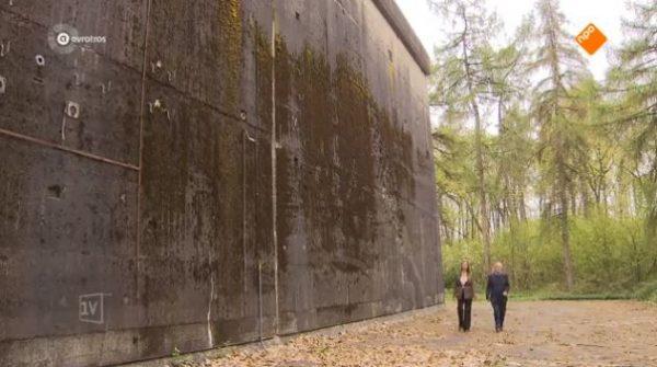 De enorme Duitse bunker bij Arnhem