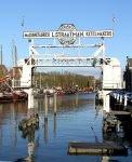 Straatmandok in de Wolwevershaven in Dordrecht