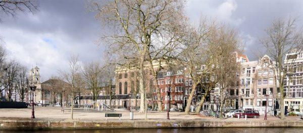 Het J.D. Meijerplein in Amsterdam