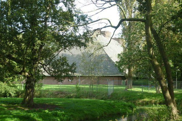De bunker van Seyss-Inquart, ogenschijnlijk een boerderij, op landgoed Clingendael