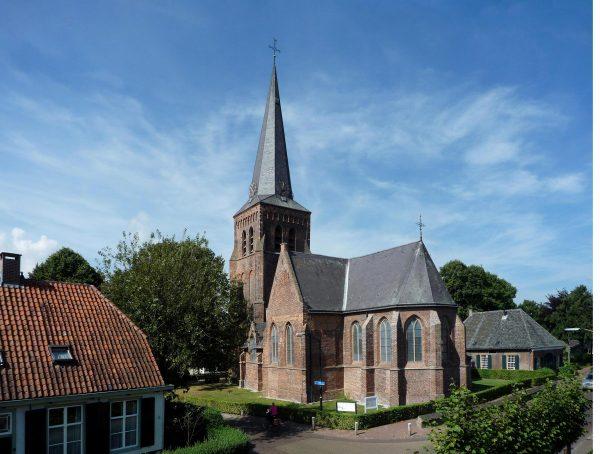 De protestantse kerk in Helvoirt